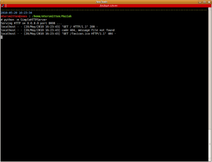 Python Server SimpleHTTPServer