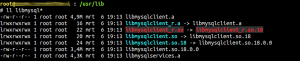 Missing libmysqlclient_r.so