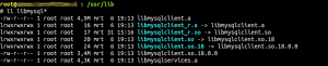 Fixed libmysqlclient_r.so
